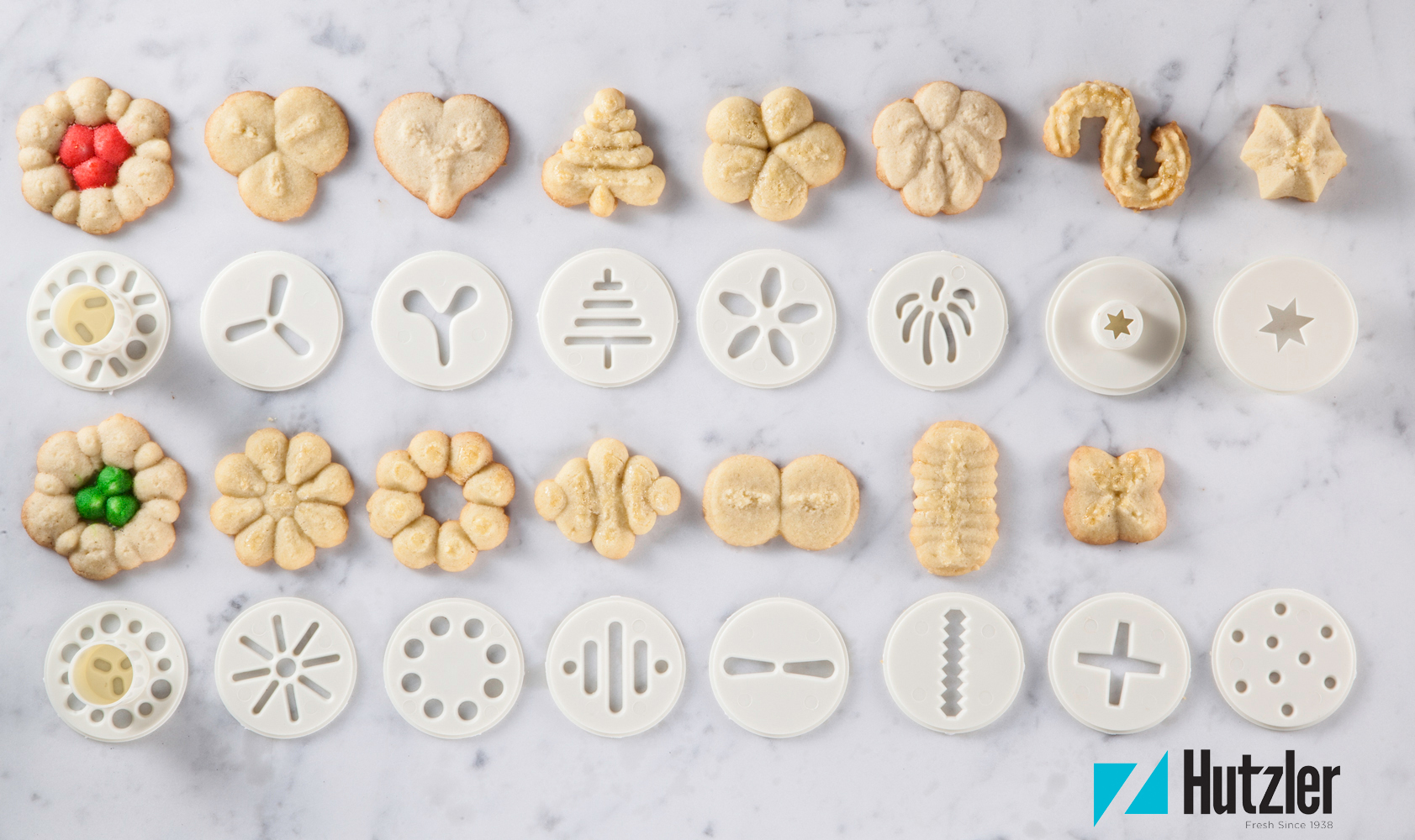 Cookie Press Discs - Cookie Shapes
