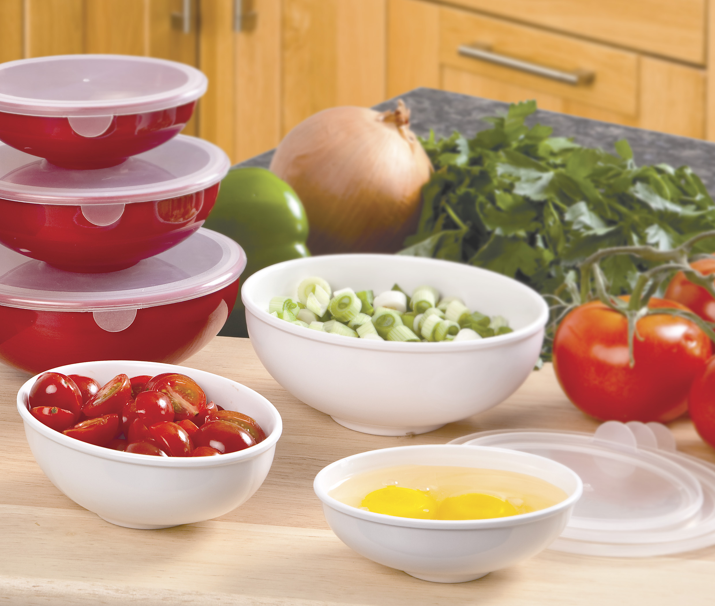 Prep Bowls with Lids