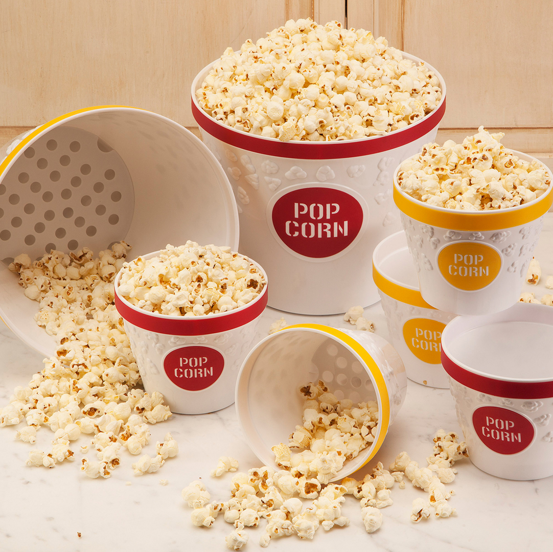 Popcorn Bowls and Popcorn Buckets