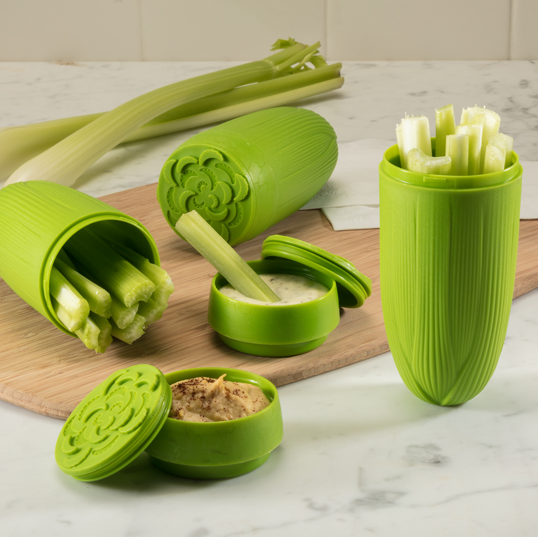 Celery and Dip To-Go